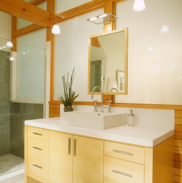 Modern tudor contemporary bathroom minneapolis by for Tudor bathroom ideas