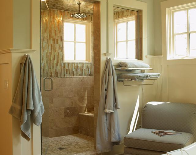 Modern tudor traditional bathroom atlanta by for Tudor bathroom design
