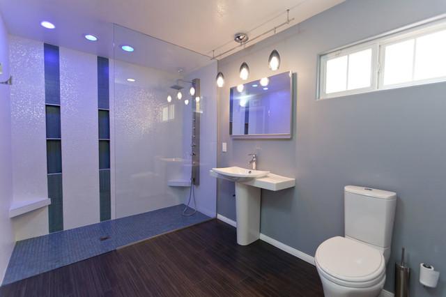 Universal Design In Bathroom : Modern universal design bathroom remodel