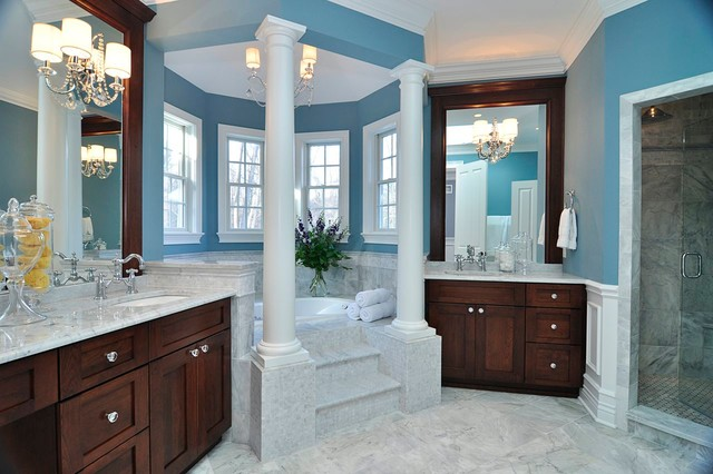 Modern Victorian Traditional Bathroom Other Metro By Melissa Blackwood Homes Interiors