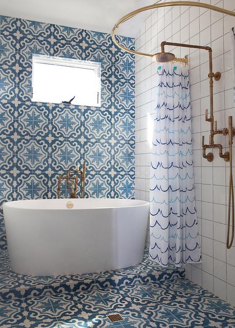 Modern Vintage - Landhausstil - Badezimmer - Los Angeles ...