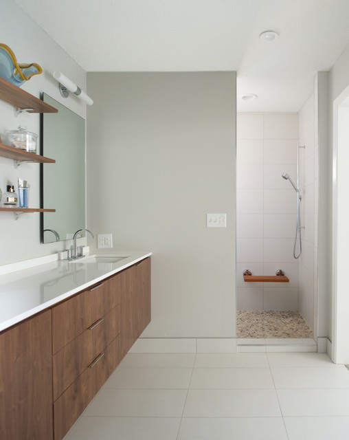 Modern whole house remodel addition contemporary for Whole bathroom remodel