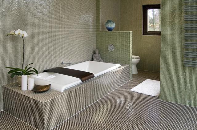 Modernist Master Bath Renovation