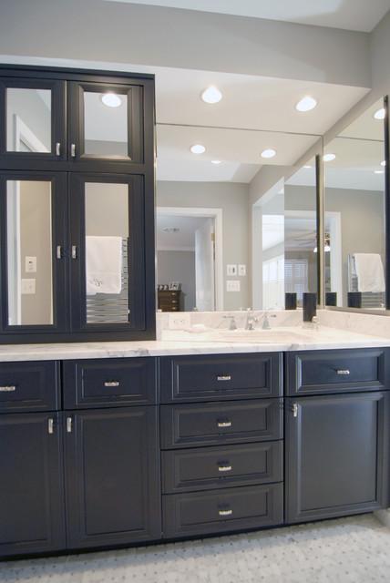 Modernized Traditional Bathroom Traditional Bathroom Dc Metro By Reico Kitchen Bath