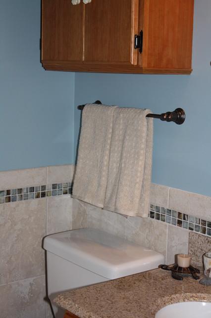 Modest beach bathroom remodel tropical bathroom for Modest bathroom remodel