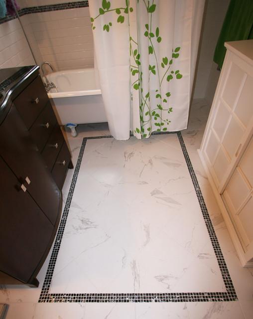 Modified Mod traditional-bathroom