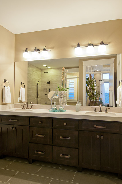 Modified Telluride by Candlelight Homes traditional bathroom