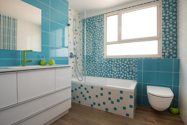 Vasca Da Bagno Incasso Sottopiano : Modiin1 contemporaneo stanza da bagno tel aviv di lang