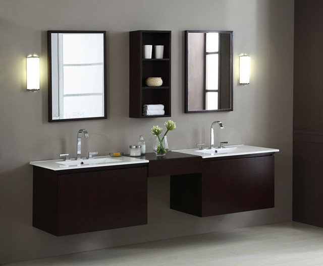 Modular bathroom vanities modern bathroom los for Bathroom cabinets modern