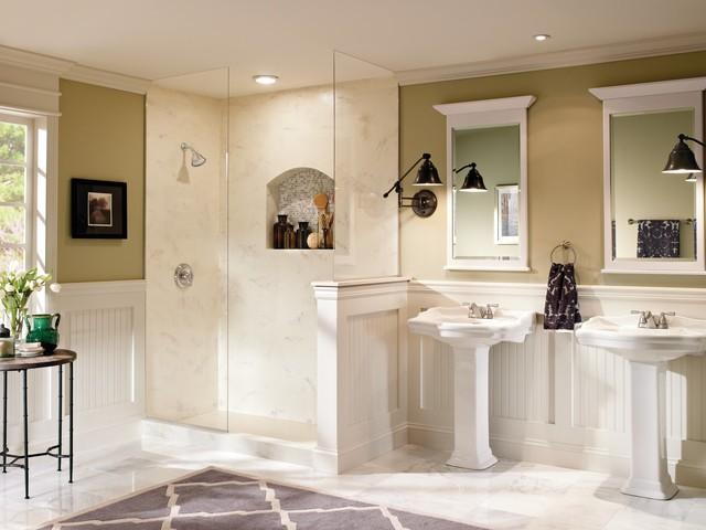 Moen Banbury Transitional Neutral Bathroom Transitional