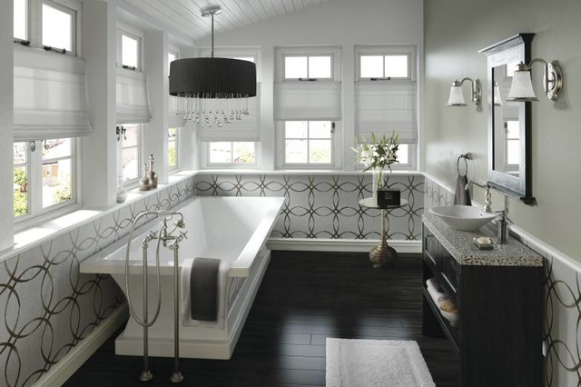 Moen Weymouth Freestanding Tub Traditional Bathroom traditional bathroom. Moen Weymouth Freestanding Tub Traditional Bathroom   Traditional