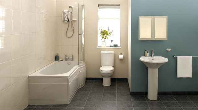 Bathroom Design B&Q monaco bathroom suite - contemporary - bathroom - hampshire -b&q