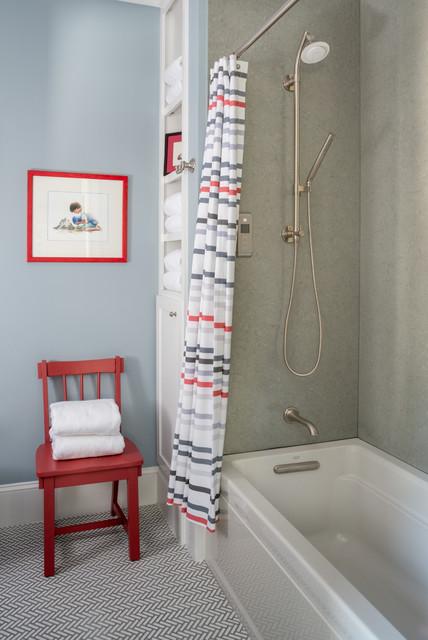 Marvelous Beach Style Bathroom by Silestone USA