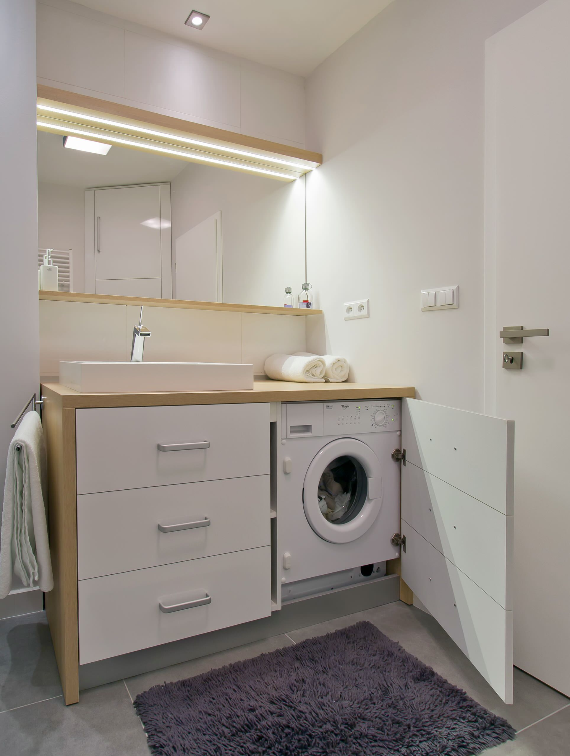 Washer Dryer Bathroom Ideas Houzz