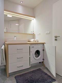 Lave Linge Dans La Salle De Bain Photos Et Idees Deco