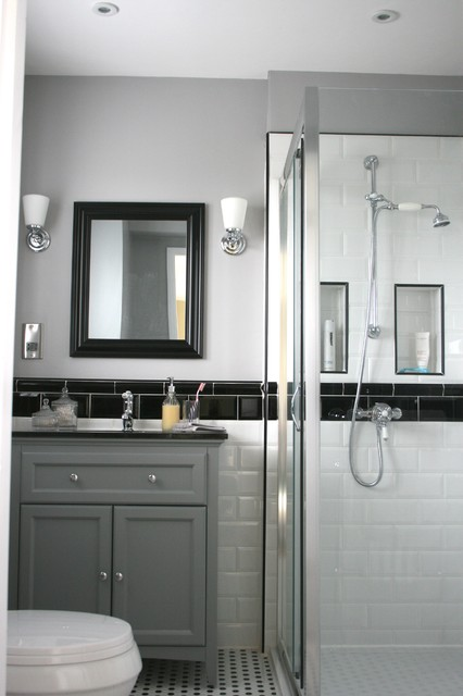 Monochromatic bathroom traditional bathroom other for Monochromatic bathroom designs