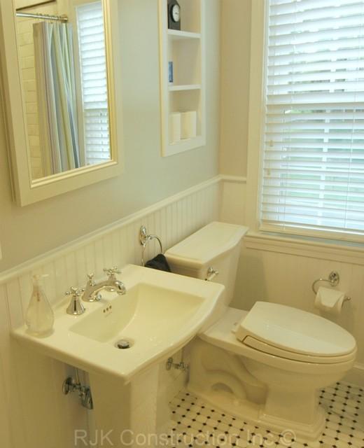 Monochromatic Bathroom traditional-bathroom