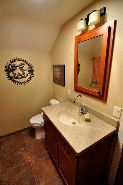 Monona home shines with whole house remodel for Whole bathroom remodel