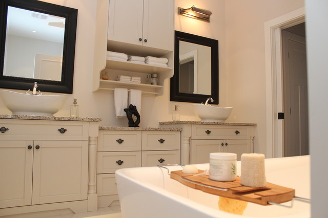 Mont Tremblant project part 1 traditional-bathroom