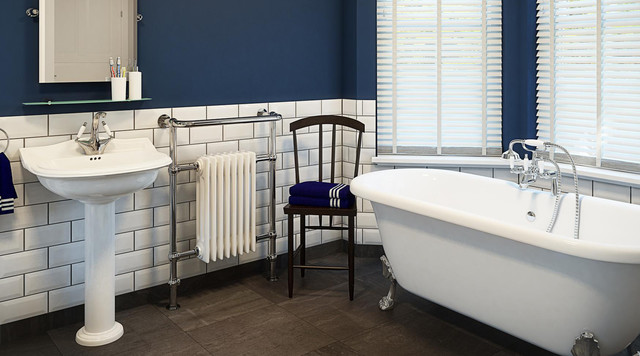 Montague victorian bathroom suite traditional bathroom for Bathrooms b q suites