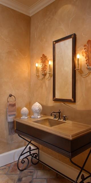Montauk House traditional-bathroom