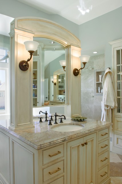 Montauk Master Bathroom traditional bathroom