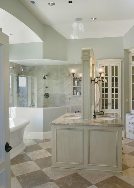 Montauk Master Bathroom traditional-bathroom