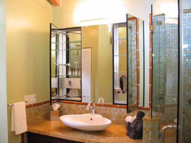 Medicine Cabinet Magnifying Mirror | Houzz