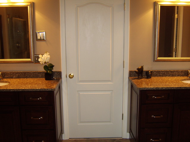 Montclair cherry by kraftmaid traditional bathroom Bathroom design centers atlanta