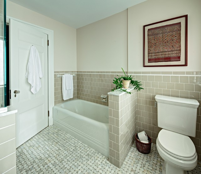 Montclair Hall Bath - Traditional - Bathroom - New York - by Tracey ...