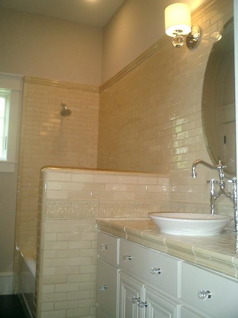 Monte Vista Home Design - New Construction traditional-bathroom