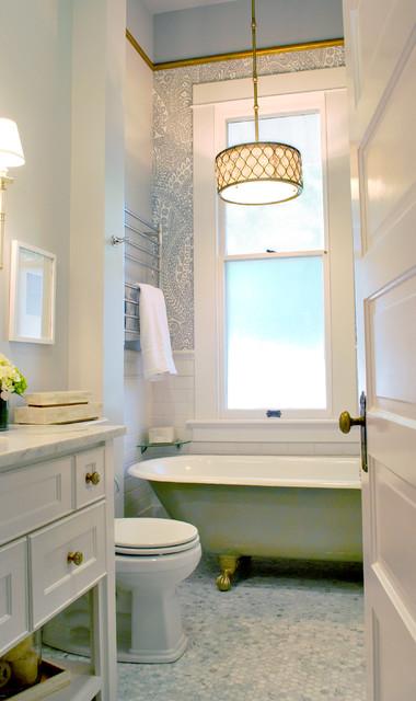 Monte Vista Modern eclectic-bathroom