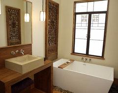 Monterey Street Bath contemporary-bathroom