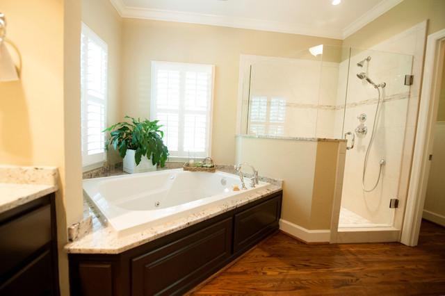 Montevallo Bath Update Traditional Bathroom Birmingham By Case Design Remodeling Birmingham