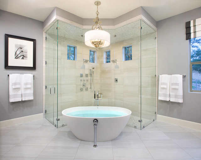 shower design. Contemporary Bathroom by Mary DeWalt Design Group 8 Stunning and Soothing Shower Designs