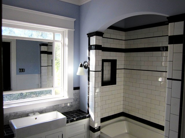 Montrose 1920s cape ann restoration houston tx jared for Bathroom ideas 1920 s