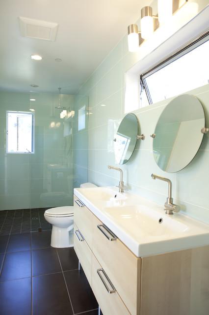 Moody Bathroom Contemporary Bathroom San Francisco By 360 Design Studio