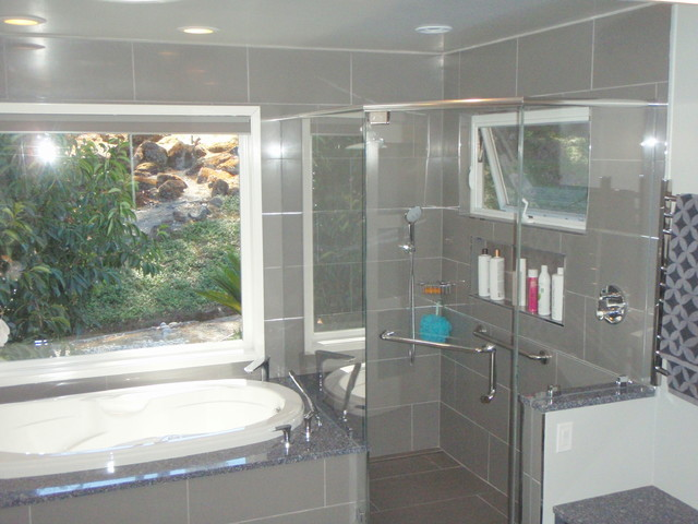 Moraga Master Bath contemporary bathroom