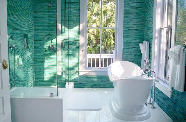 More Bath Ideas tropical-bathroom