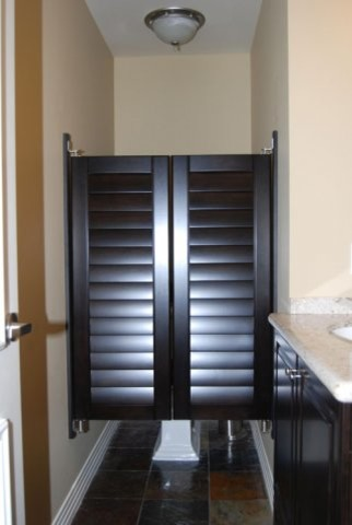 More Custom Closet Doors - Traditional - Bathroom - san ...