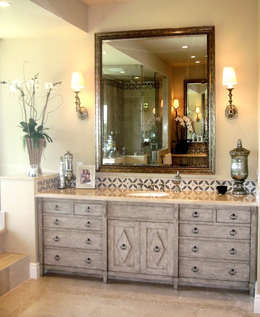 D for Design - Morning Canyon -  Corona del mar Ca. mediterranean bathroom