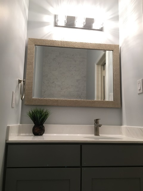 morningside atlanta ga half bathroom remodel job modern
