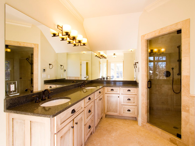 Morningside Custom Design Build traditional bathroom
