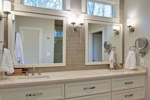 Morningside Make-Over contemporary-bathroom