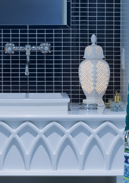Moroccan Lounge eclectic-bathroom