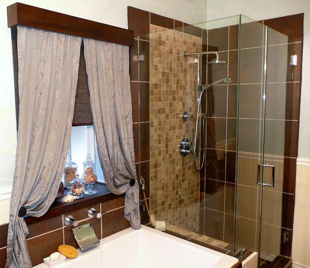 Morris residence master bathroom eclectic-bathroom