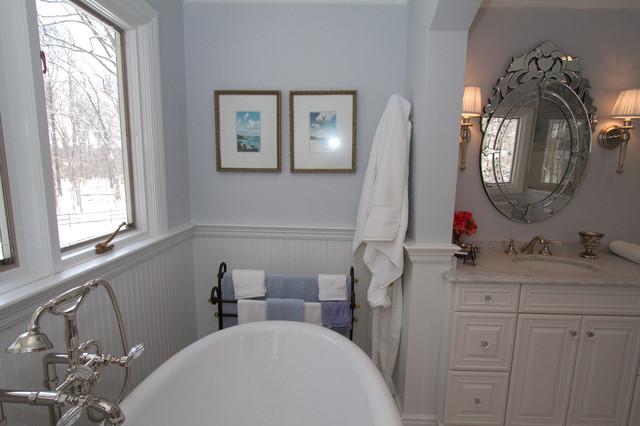 Morristown Elegant Master Bath traditional-bathroom
