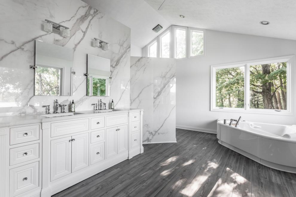 Morse Lake Master Bathroom Renovation - Modern - Bathroom ...