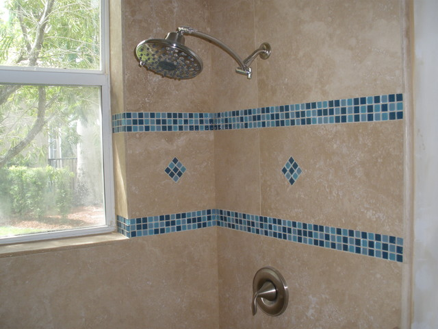 Mosaic designs contemporary bathroom miami by Bathroom tile ideas mosaic