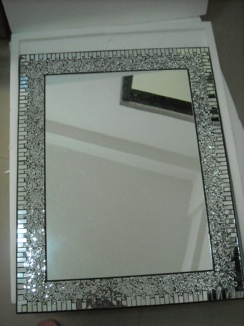 Simple Mosaic Oval Mirror 8668  Framed Mirrors  Pinterest  Oval Mirror